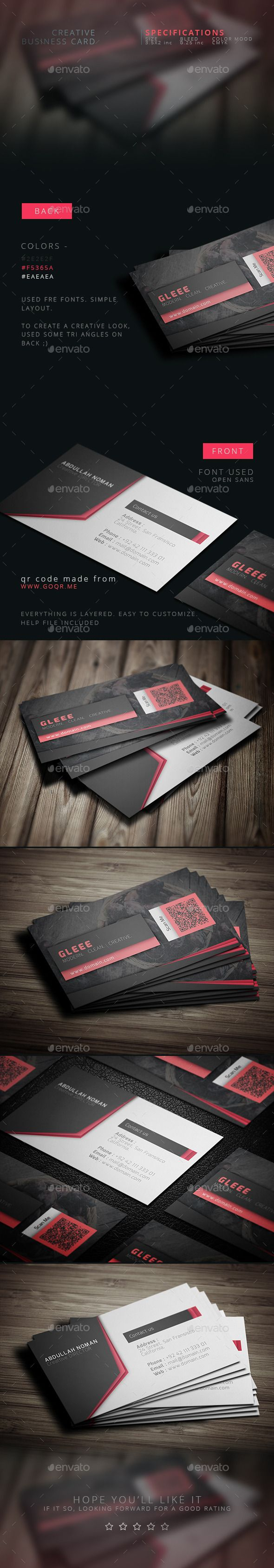 186 best business card templates images on pinterest