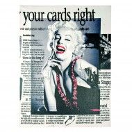 Tablou Marilyn. Print pe panza.Trademan Suedia