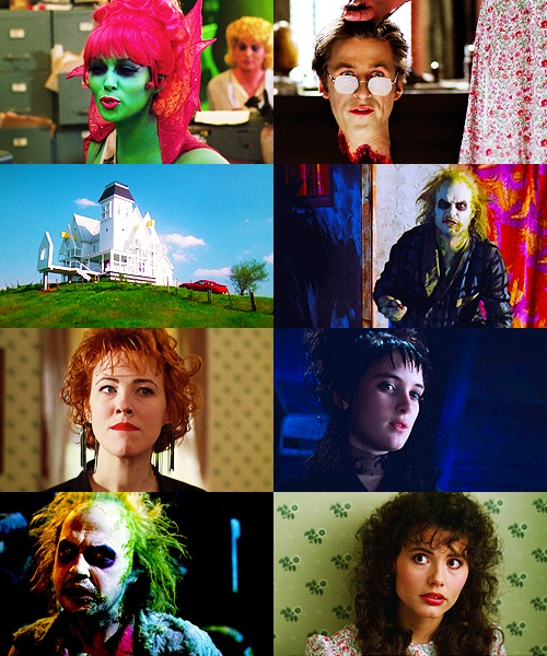 Beetlejuice.  Awesome cast, weren't they great in this?