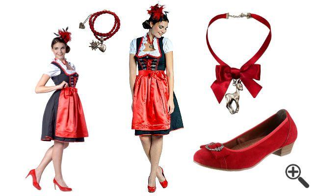 Dirndl in Schwarz Rot.. http://www.fancybeast.de/dirndl-schwarz-rot-dirndl-outfit/ #Dirndl #rot #schwarz #Dirndlkleid #DirndlOutfit #Outfit #Kleider #Dress #Oktoberfest #Wasen Dirndl Outfit Dirndl Schwarz Rot