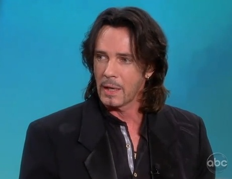Rick Springfield...born 1949...is he showing his age?