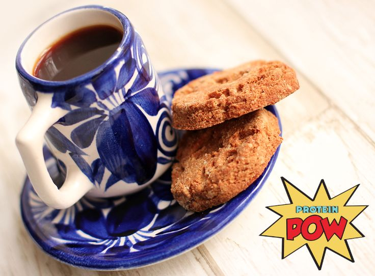 Almond Whey Protein Biscuits