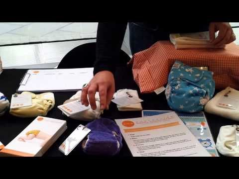 ▶ A closer look at our 'Get Into Cloth' Reusable Nappy Advocacy Kits at their launch - YouTube