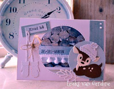 Leuks van Gerdine: Kerstkaart nummer 1 van dit jaar!