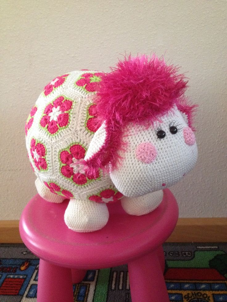 Miss wooly roze #madebyrianne