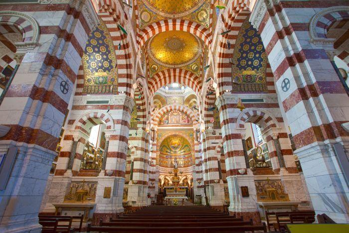The altar of Notre Dame de La Garde,  Marseille