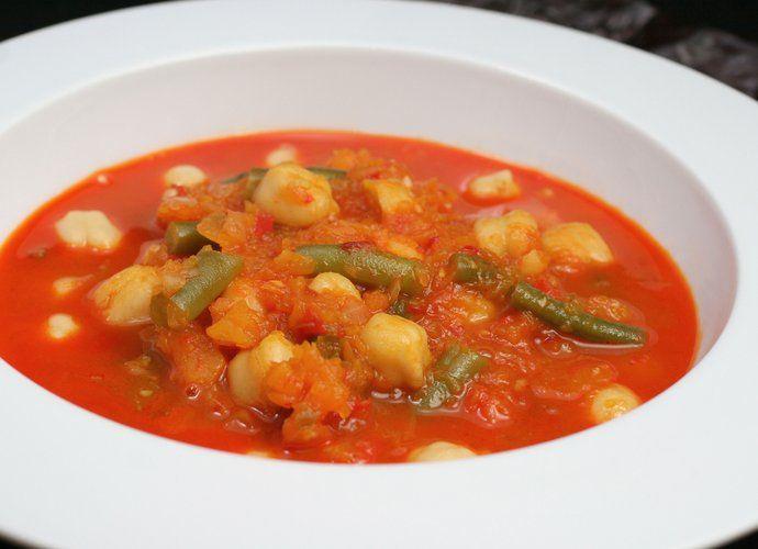 Potaje de calabaza y judías para #Mycook http://www.mycook.es/cocina/receta/potaje-de-calabaza-y-judias