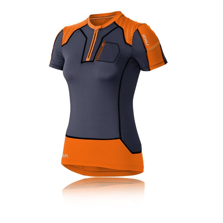 2XU XTRM Women's 1/4 Zip Compression Running T-Shirt - SS16   SportsShoes.com