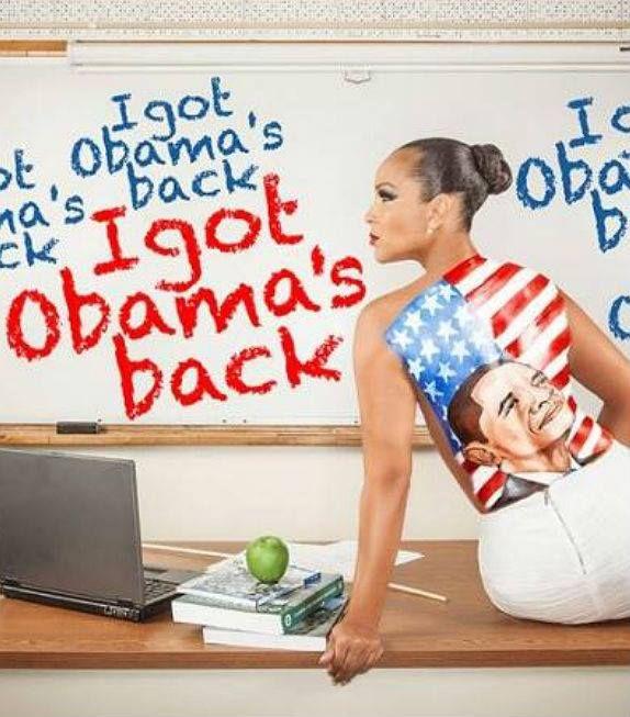 Happy Birthday President Obama -Lisa Raye fb pg photo