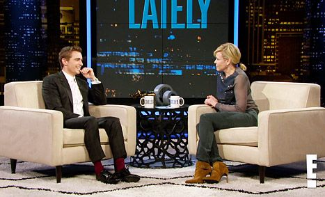 Dave Franco got freaky in his Neighbors role, but he admits that the actual filming of it was super awkward.