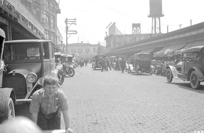 Pike Place looking south, 1919
