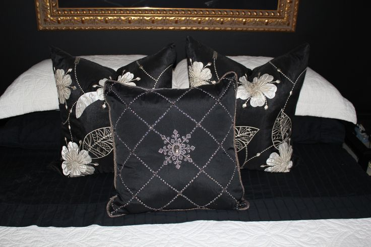 Black & Cream Pillows