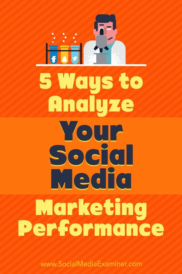 Auditing key social media metrics can reveal which aspects of your social media marketing are working and provide insight into which areas you can improve upon.  In this article, youll discover five ways to analyze the effectiveness of your social media