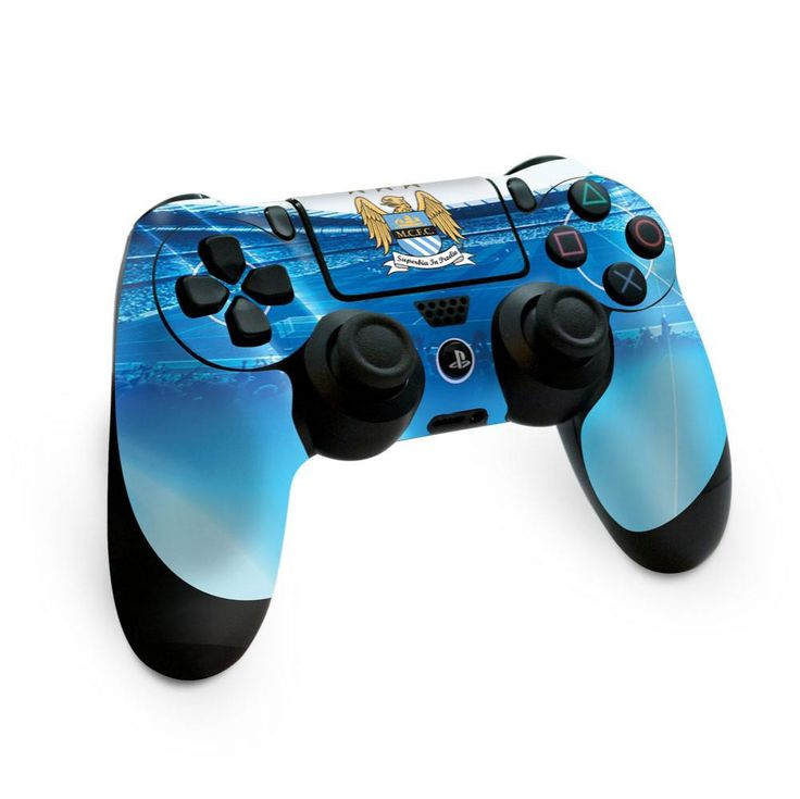 Manchester city fc ps4 controller skin ps4 controller