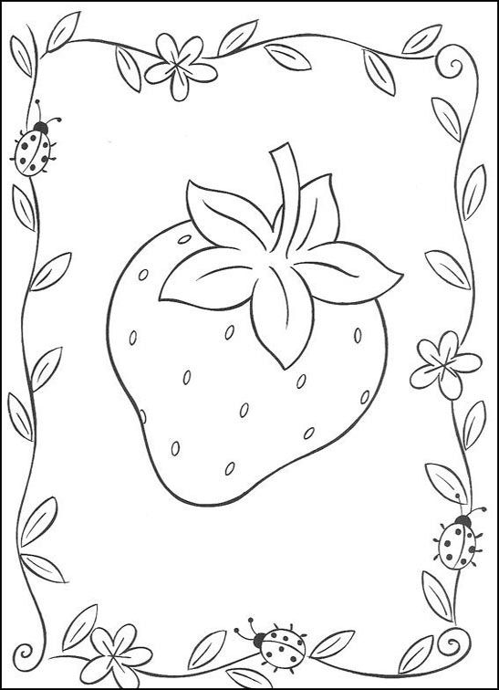 Disegni da colorare Disegni da stampare e colorare online. Shortc fragola ...