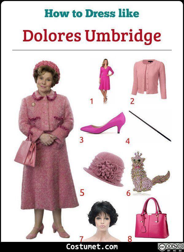 Dolores Umbridge Harry Potter Costume For Cosplay Halloween Dolores Umbridge Harry Potter Halloween Costumes Halloween Women