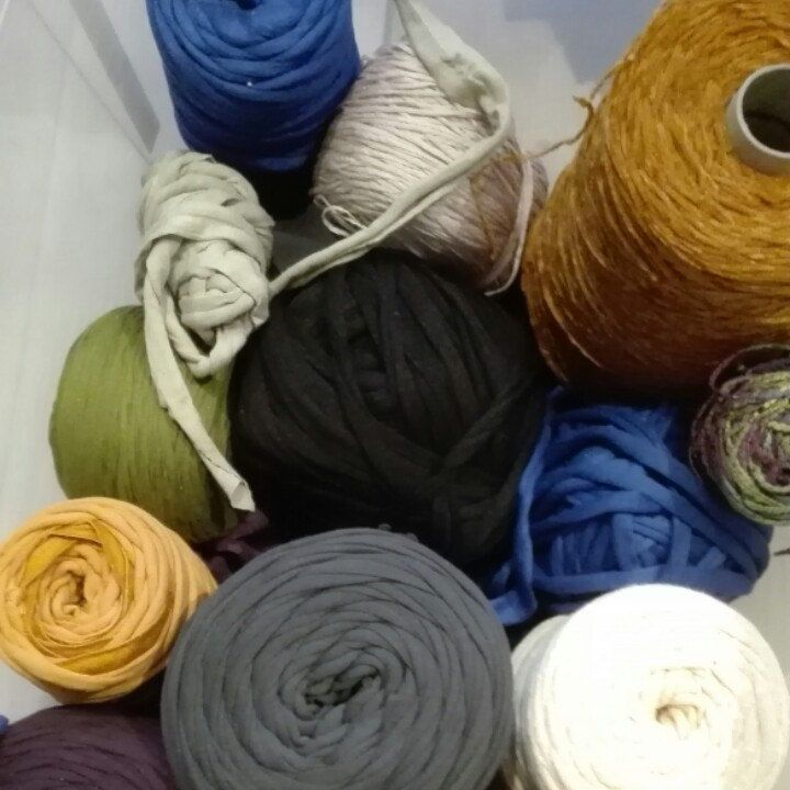 Some colors combinations to begin new baskets...:-)