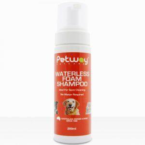 Waterless Foam Dog Shampoo