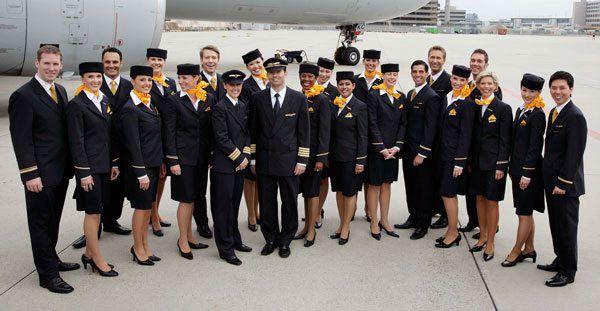 The Flight Attendant Uniform