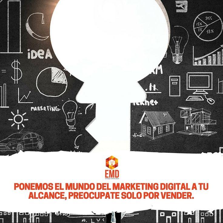 Deja tu presencia digital en nuestras manos, somos expertos! #EMD #MarketingDigital #SocialMedia #Ecommerce