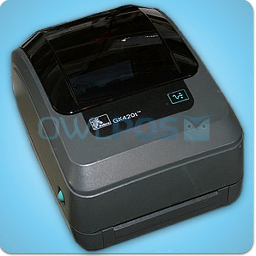 Zebra GX420T Thermal Ribbon Transfer Barcode Shipping Label Printer Ethernet