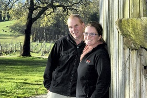 The owners of Tamar Valley vineyard Holm Oak have celebrated their dark horse placing in the 2013 Wine Companion book. Tim and Rebecca Duffy said Holm Oak was the only Tasmanian vineyard to receive the esteemed accolade | Will Swan