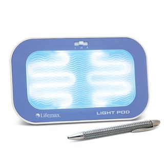 SAD Light Pod £37.50 This compact and portable SAD light pod is perfect for use at home or in the office. It is designed to improve physical and mental well-being on those short winter days and has two brightness levels.