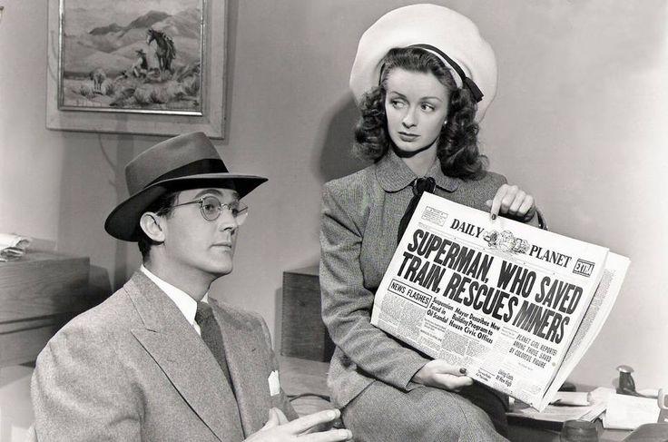 Las actrices que fueron novias de Superman III,  Noel Neill, Lois Lane en el cine (1948 y 1950) y en la televisión (1953-1958).