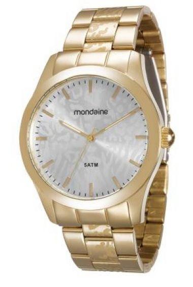 78684LPMVDA1 Relógio Feminino Dourado Mondaine