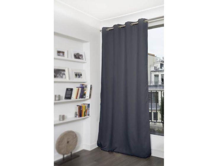 Rideaux thermiques Moondream en ligne : le rideau thermique et occultant gris Fumée maintient une température idéale toute l'année. Jusqu'à 46% d'économies d'énergie en hiver!