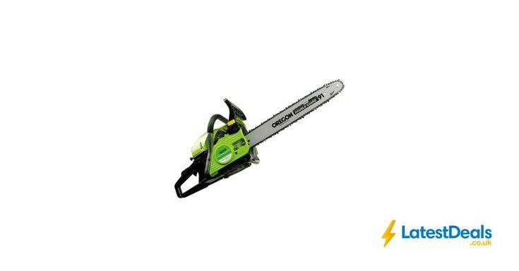 Garden Gear 45cc Petrol Chainsaw Free Delivery, £79.99 at Oypla