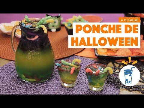 ¿Cómo preparar Ponche de Halloween? - Cocina Fresca - YouTube