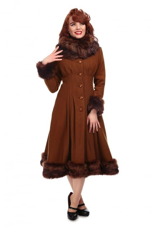 Collectif Vintage Pearl Coat | My Style | Pinterest