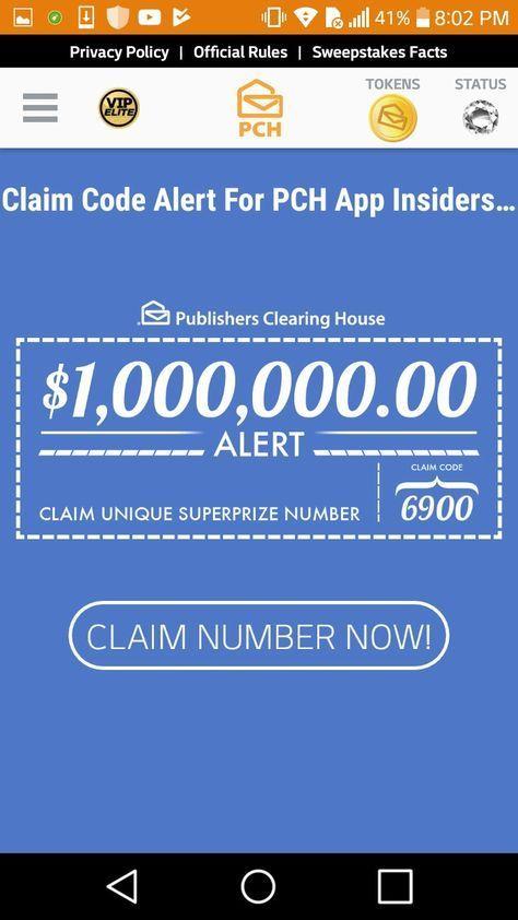 Pch Claim Code