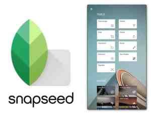 Snapseed best camera app for android device
