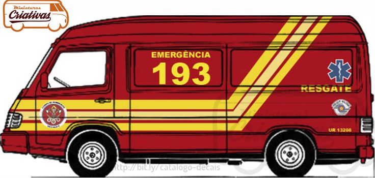 Viatura Mercedes MB-180 Bombeiros
