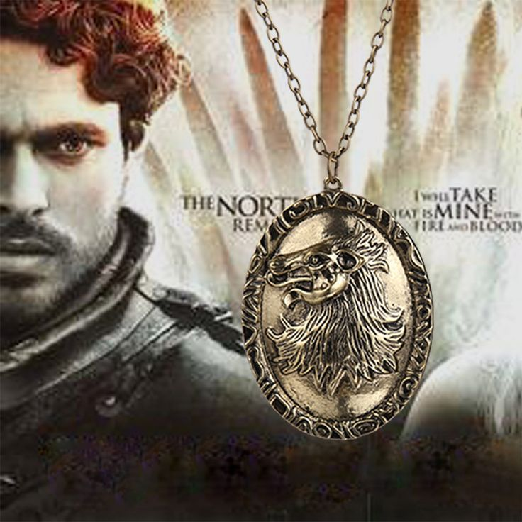 Fire Game of Thrones House Stark Direwolf Canis dirus men pendant necklace wolf sign chain male  //Price: $US $2.49 & FREE Shipping //     #gameofthrones #gameofthronestour #gameofthronesfamily  #starks