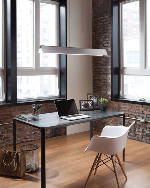Just when you thought a linear suspension couldn't get any more sleek. Think again. It's @TechLighting's Dobson Linear Suspension #techlighting #contemporarylighting #ledlighting #interiordesign #interiors #homedesign #design