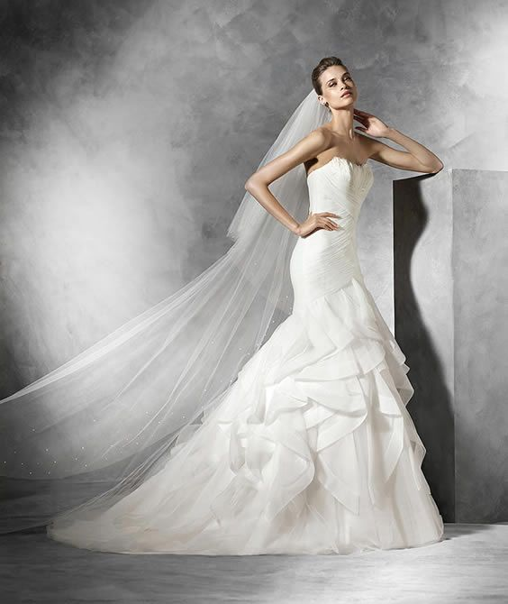 Georgina Scott Bridal stock a range of bridal wear from world - renowned brand Pronovias