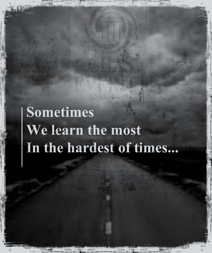 Chas Everitt Weekly Inspiration. Sometimes we learn the most in the hardest of times... http://www.chaseveritt.co.za/