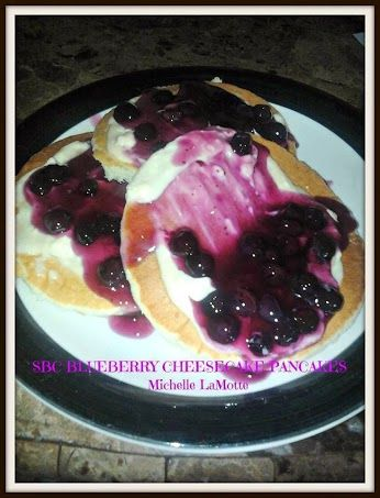 BLUEBERRY CHEESECAKE PANCAKES Make Pancakes According to your Favorite ...