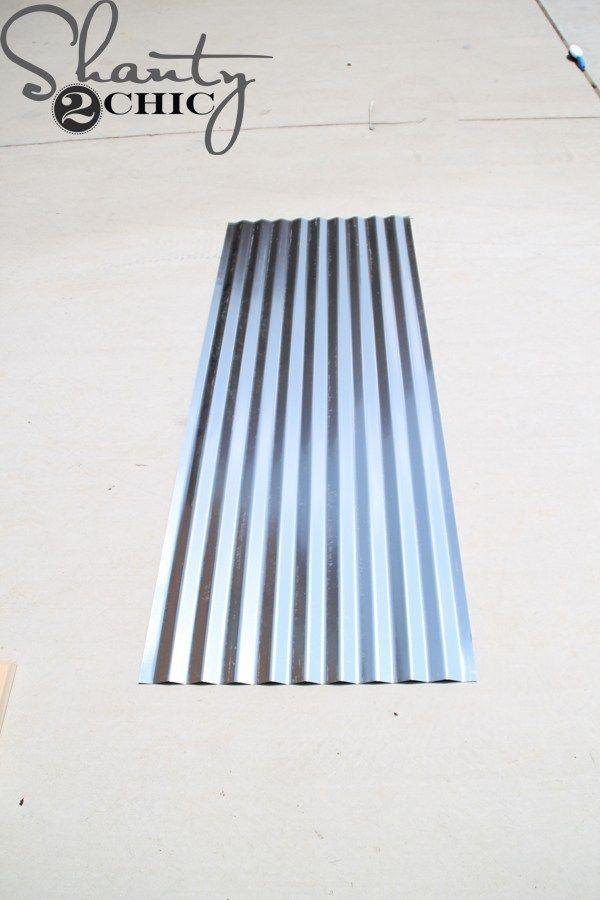 Diy Corrugated Metal Awning Metal Awning Diy Awning Corrugated Metal