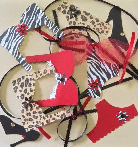 Safari Lingerie Bachelorette Party Decoration by AllThingsTisha