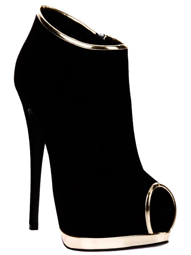 Giuseppe Zanotti Design - Peep toe shoe boot | Keep the Glamour | BeStayBeautiful