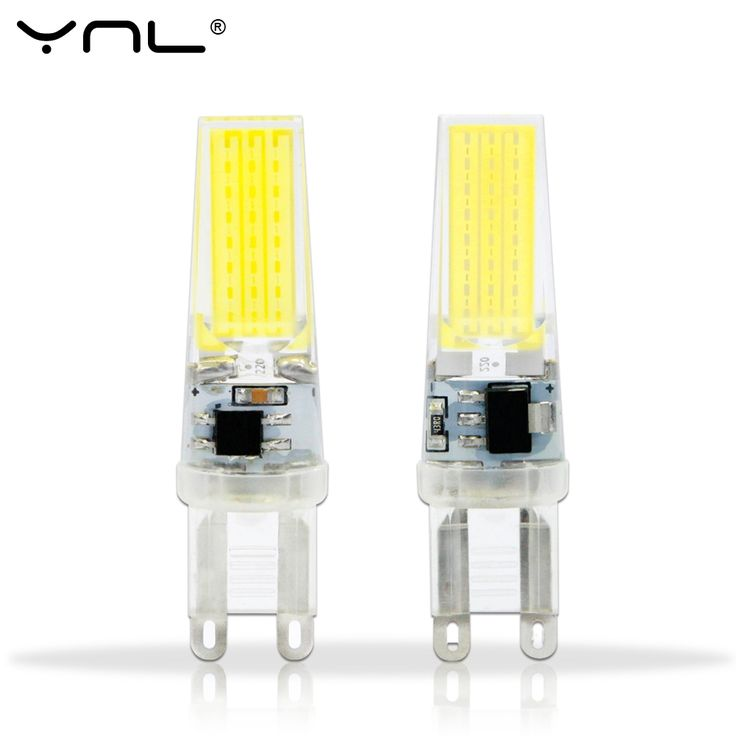 1.49$  Watch now - http://alihkm.shopchina.info/go.php?t=32621717451 - YNL G9 COB LED Lamp AC220V 3W G9 LED Bulb Crystal Silicone 360 Beam Angle Lights Replace 30W halogen lamps Spotlight Chandelier  #magazine