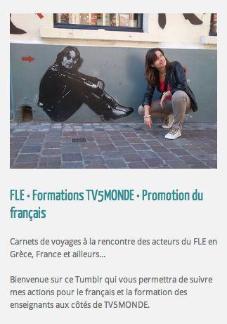Blog d'une formatrice FLE labellisée TV5MONDE : Carnets de voyages à la rencontre des acteurs du FLE en Grèce, en France et ailleurs...