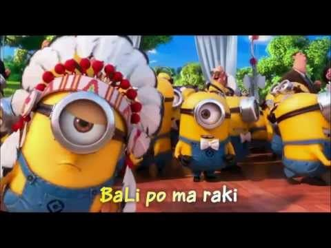 ▶ Minions Song ~ YMCA with Lyrics & full video clips - YouTube - for those who don't speak Minion.