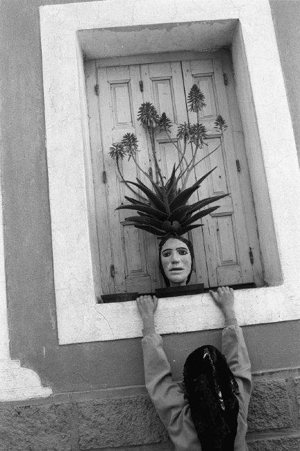 Nikos Economopoulos GREECE. Karpathos island, Olymbos village. 1989.