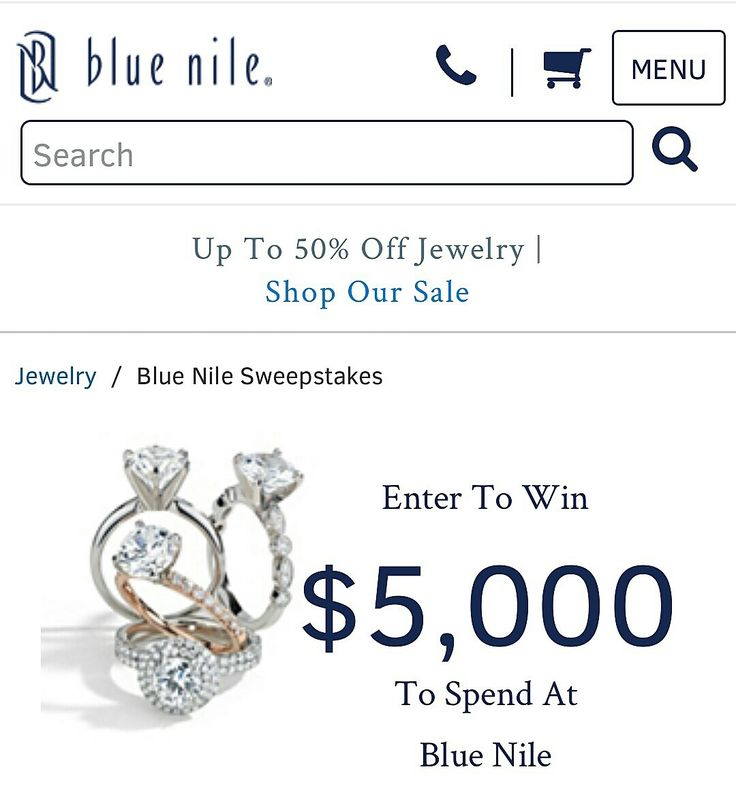♥🎁♥ #FridayGiveaway: #Wedding Edition... ✨ 3.💎 Blue Nile Signature #Diamond Winter 2017 #Sweepstakes. Enter for your chance to win $5,000 towards fine #jewelry! Good luck! ✨ #PutARingOnIt💎💍 ✨  #luxurywedding #weddingday #weddingstyle #weddingideas #engagementring #proposal #giveaway #contest #bride #groom #win #bling #jewelsofpinterest #luxury #love #FridayFeeling #friyay #pinwin #weddinginspiration #weddinginspo #weddingplanning #pinterestwedding #engaged #IDo