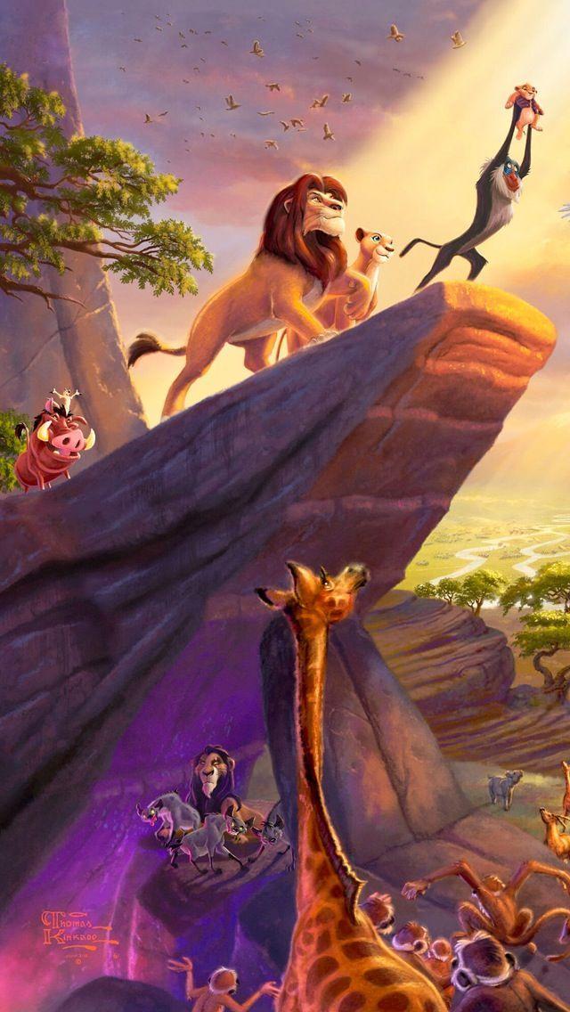 Fond écran iPhone – Disney – Le Roi Lion – #Disne…